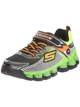 Product Image Skechers Kids Gore And Strap Light Up Sneaker (Little Kid) da5ffe382