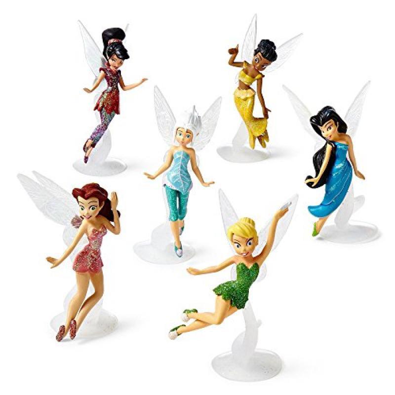 Disney Fairies 6-pc. Figure Set, Tinker Bell, Periwinkle,...