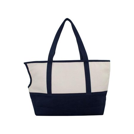 CB Station 6354 Pet Carrier Bag with Cushion Lining, Natural & Navy