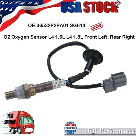 02 O2 Oxygen Sensor Downstream for Acura Integra Honda Civic CRV CR-V