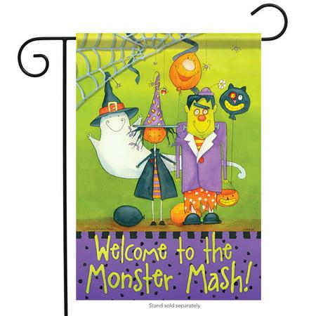 Monster Mash Garden Flag Halloween 13