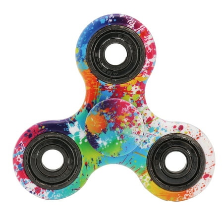 3D Finger Hand Spinner Fidget Focus Stress Reliever Toys Graffiti Boy Girl Toy - Spinner Ball