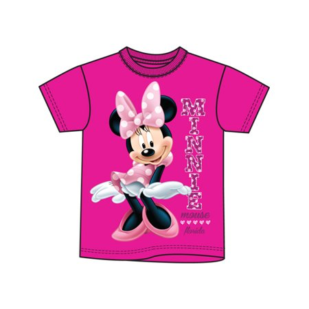 Disney Toddler Minnie Sassy (Florida namedrop) - Pink - 3T Tee