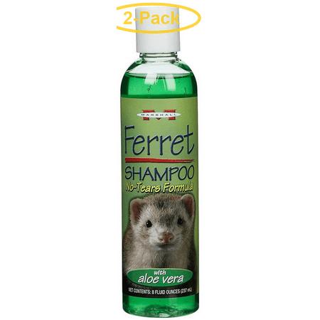 Marshall Ferret Shampoo - No Tears Formula with Aloe Vera 8 oz - Pack of 2