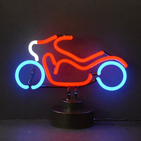 - Neonetics Cars and Motorcycles Motorcycle Neon Sign Sculpture
