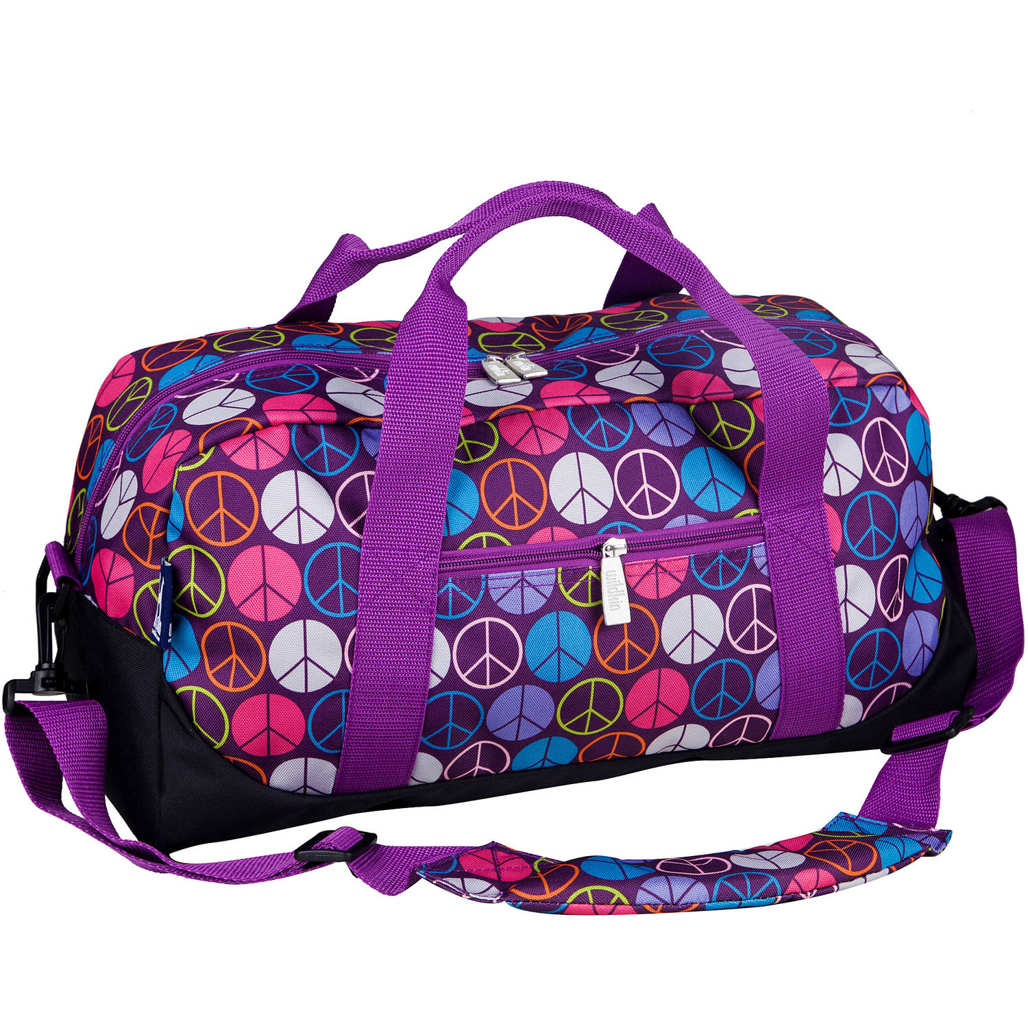 Wildkin Peace Signs Duffel Bag