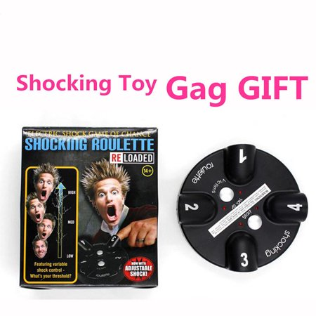 Electric Shock Shocking Toy Roulette Shot Party Drinking Game Trick Gag Gift