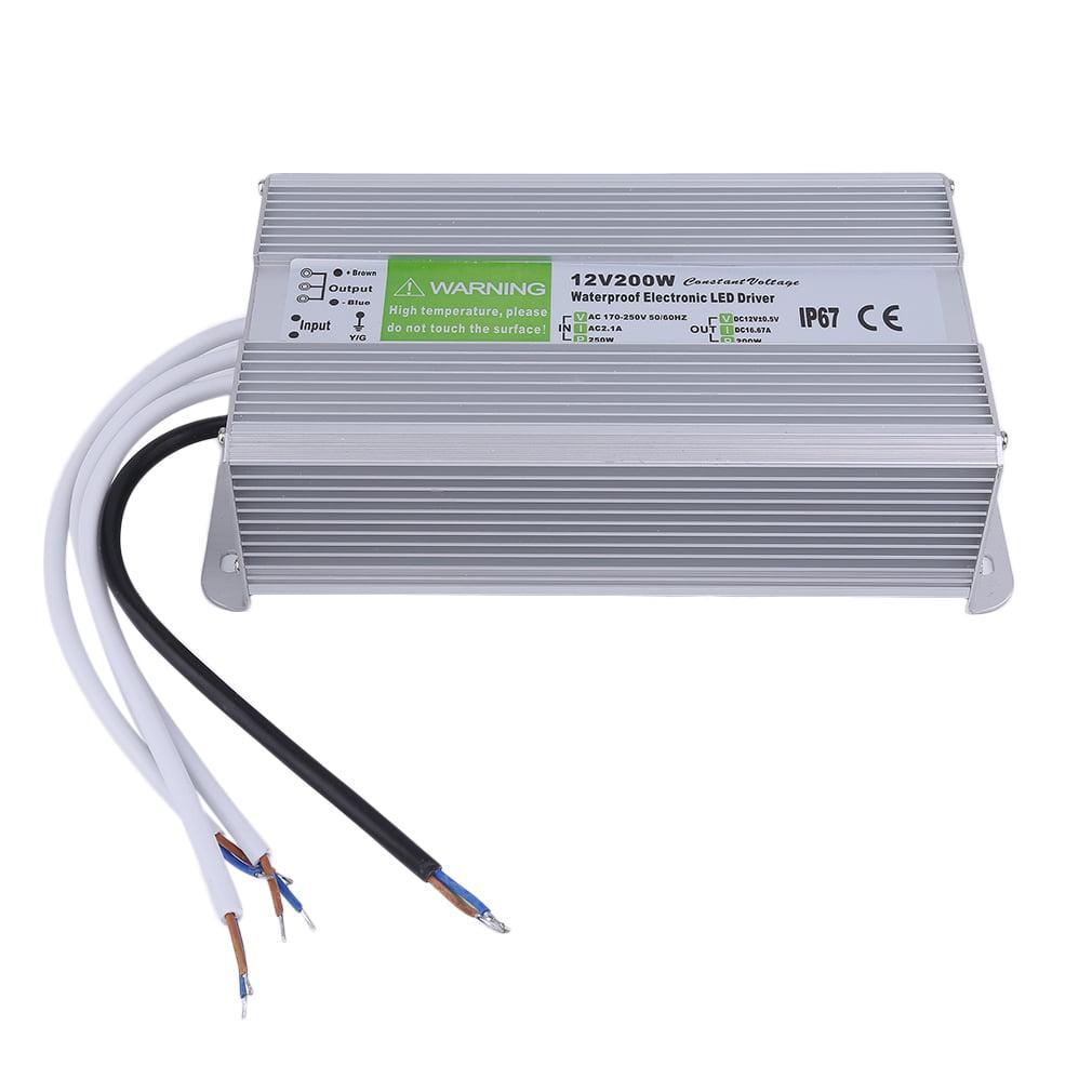 Cimiva 30/45/50/60/80/100/120/150/200W Waterproof Transformers AC-DC 12V Transformers Power Supply Adapter LED Light Driver
