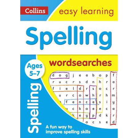 Spelling Word Searches: Ages 5-7 - Halloween Spelling Words