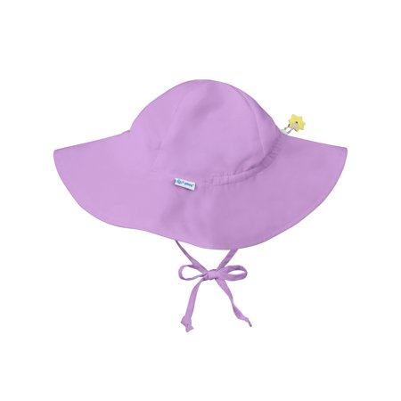 51e4e6f46fa Iplay Brim Sun Hat for Toddler Girls Sun Protection Wide Brimmed Hat-Solid  Purple 2