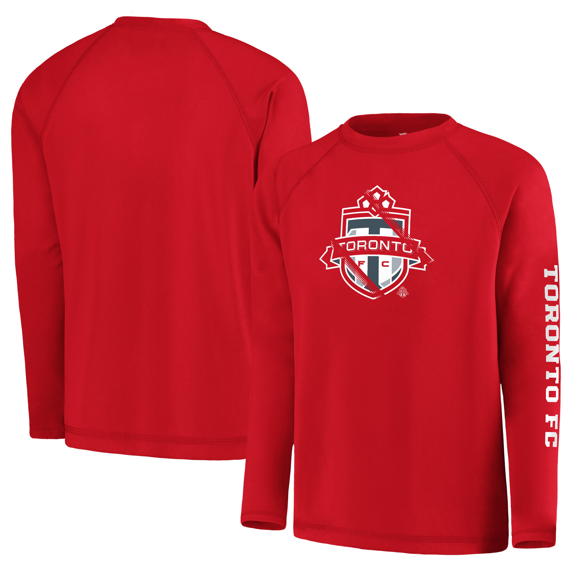 Toronto FC Fanatics Branded Youth Vital to Success Long Sleeve T-Shirt - Red