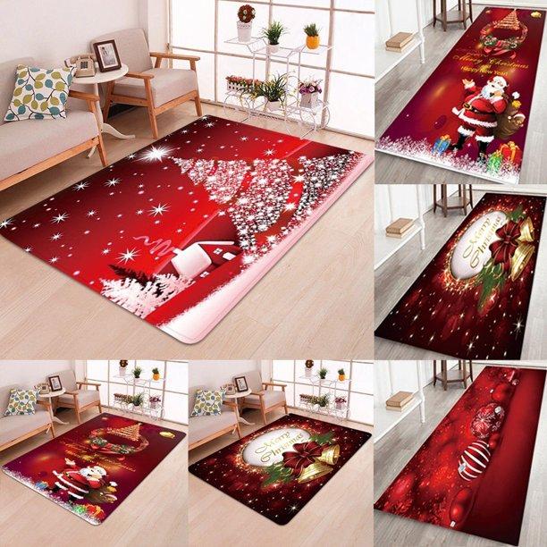 Us Xmas Door Mat Bathroom Rug Bedroom Carpet Bath Mats Rug Christmas Snowman Walmart Com Walmart Com