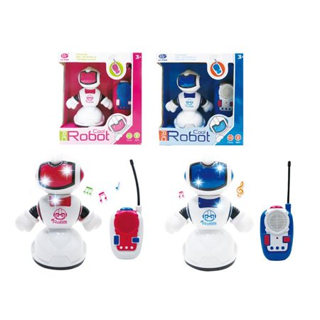 - Cool Robot 2322494 7.5 in. R&C Robot with Light & Sound - Case of 24