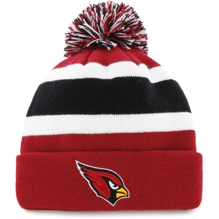NFL Arizona Cardinals Breakaway Beanie with Pom / Hat - Fan Favorite