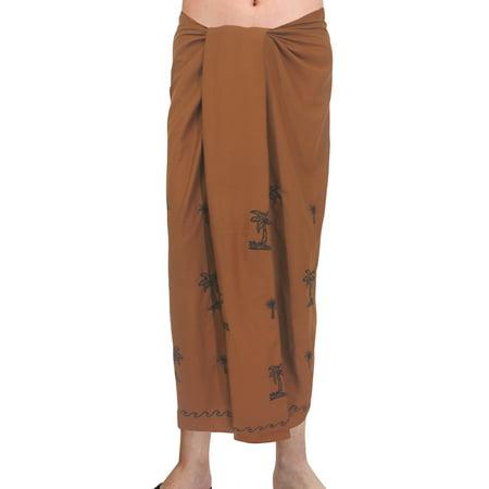 Bathing Suit Swimsuit Beach Wear Mens Sarong Pareo Wrap Cover ups Beach Towel