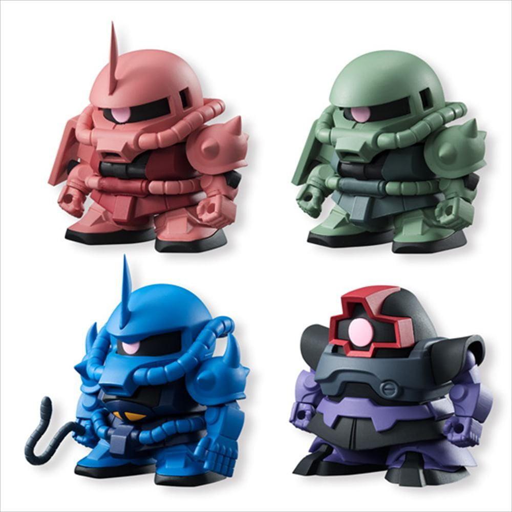 Bandai Hobby Shokugan Mobile Suit Gundam Build Model Volume 2 Kit Set of 10 by Bandai Hobby