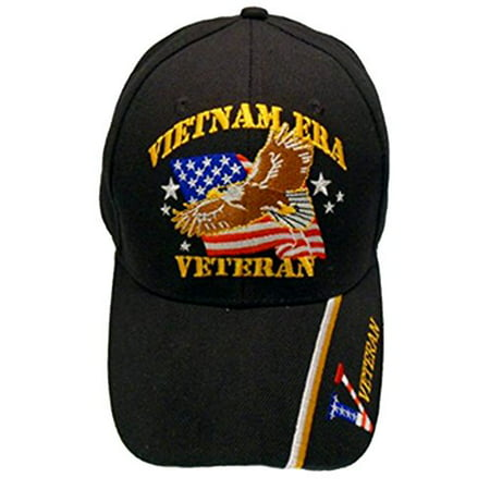 Buy Caps and Hats Vietnam ERA Veteran Embroidered Military Baseball Cap and Sticker Mens (Vietnam ERA Eagle)