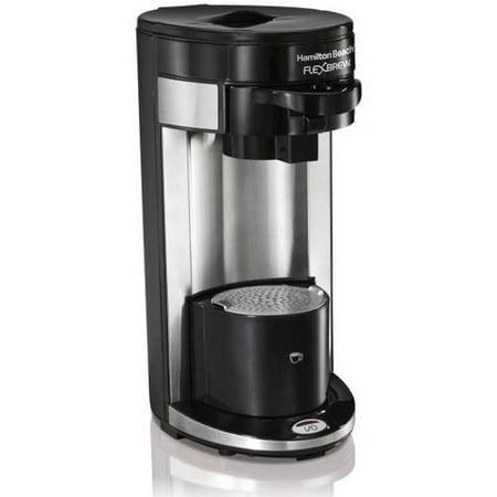 Refurbished Hamilton Beach FlexBrew Single-Serve Coffee Maker | Model# (Hamilton Beach Flexbrew Single Serve Coffeemaker Model 49995)