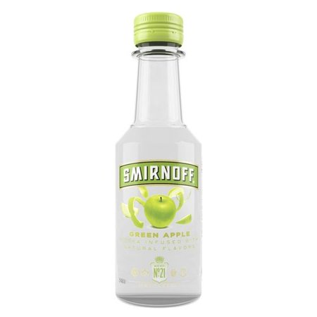 Smirnoff Green Apple Vodka, 50 mL - Walmart.com