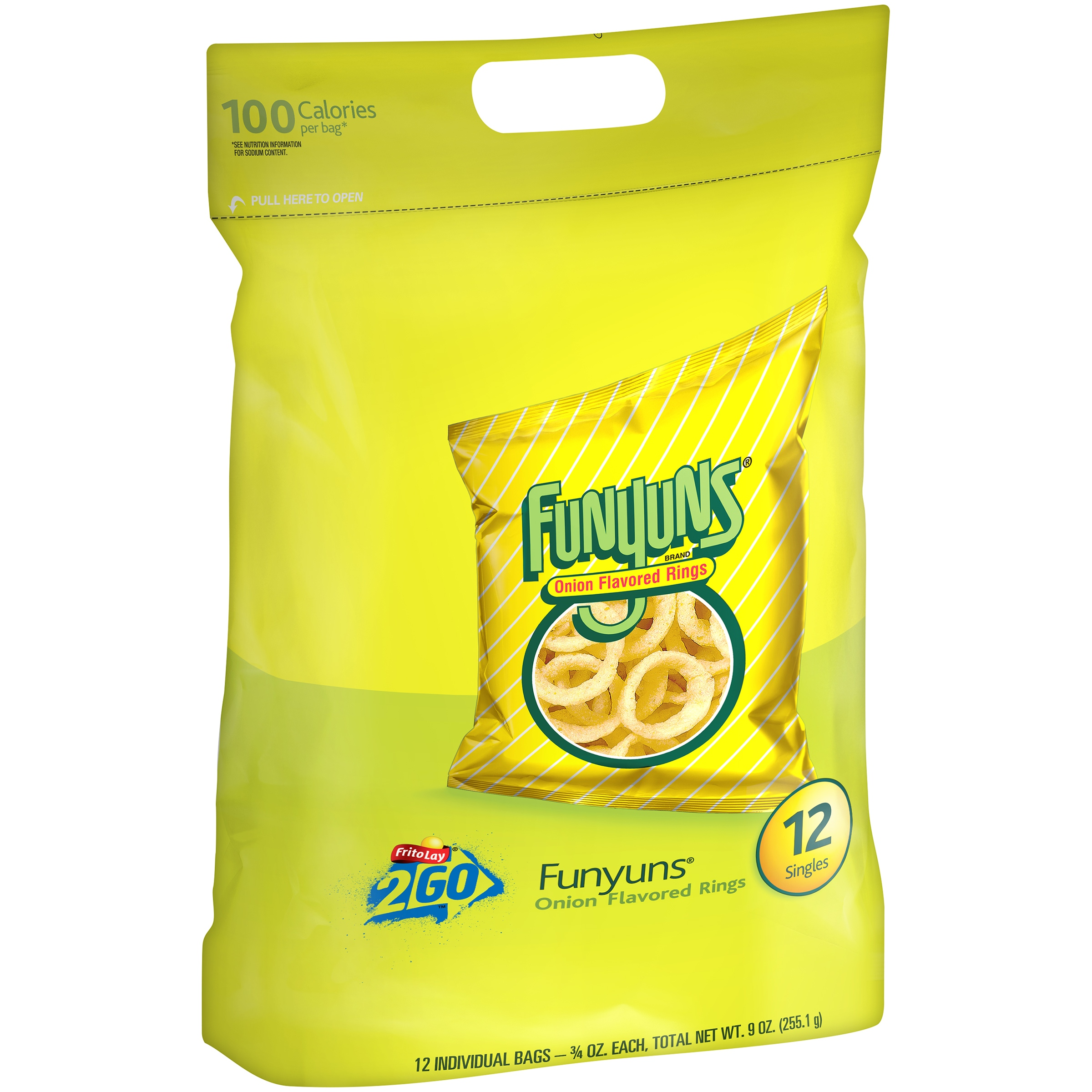 Funyuns® Onion Flavored Rings, 12 Count, 0.75 oz Bags