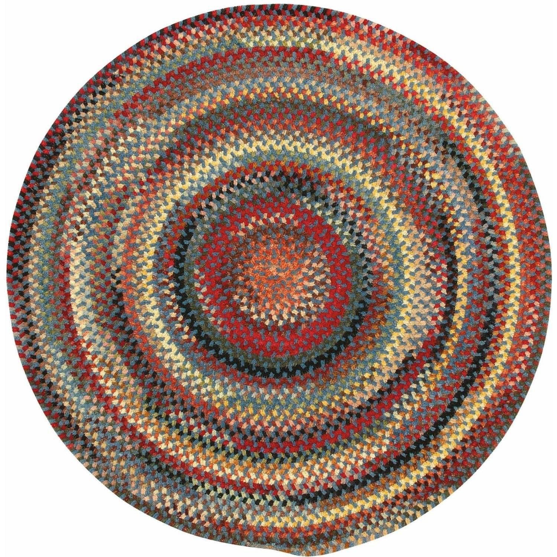 10 Ft Round Braided Rugs