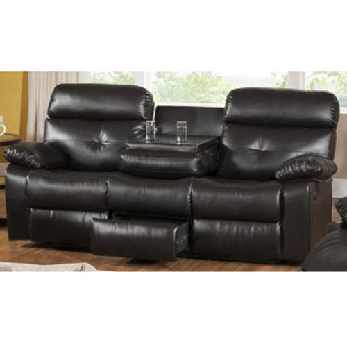 Primo International Discovery Leather Upholstered Reclining Sofa