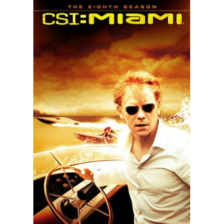 CSI: Miami - The Eighth Season (DVD)