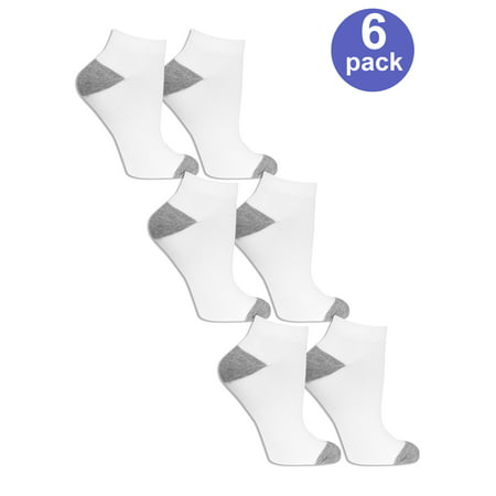 Womens Value Pack Low Cut Socks, 6