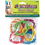 COLORFUL CHEW RINGS 6PC 72