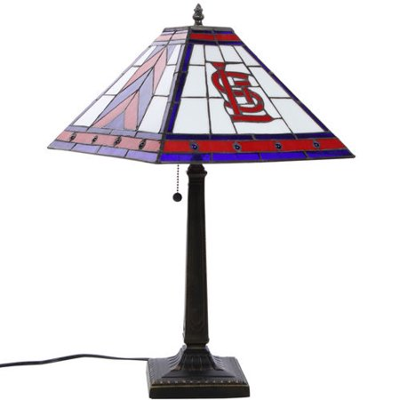 St louis cardinals 23 mission tiffany table lamp walmart st louis cardinals 23 mission tiffany table lamp mozeypictures Choice Image