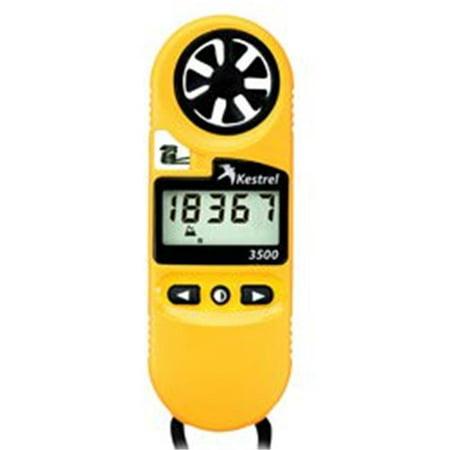 Kestrel 3500 Pocket Weather Meter Yellow