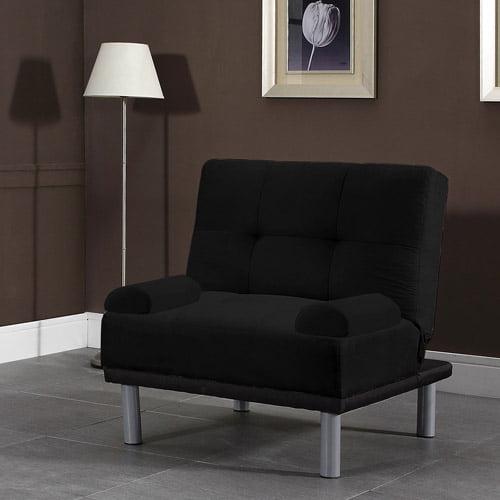 Atherton Home Manhattan Convertible Chair, Black