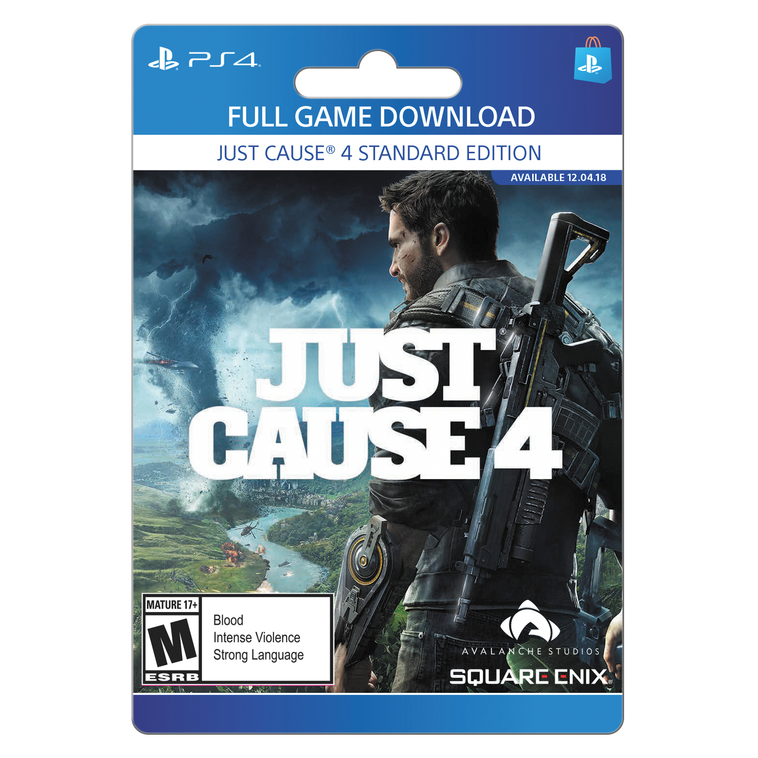 Just Cause 4: Standard Edition, Square Enix, Playstation, [Digital Download]