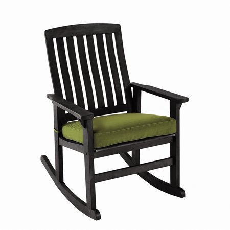 Better Homes & Gardens Delahey Wood Porch Rocking Chair ()