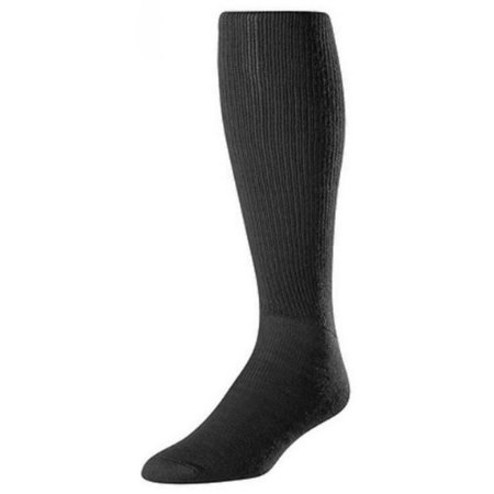 Twin City Senior Youth All Sport Solid Color Tube Sock, - Tube Blue Glow