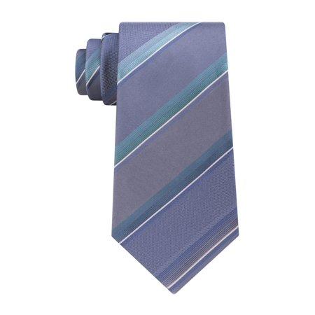Kenneth Cole Mens Stripe Self-tied Necktie 439 One Size - image 1 de 1