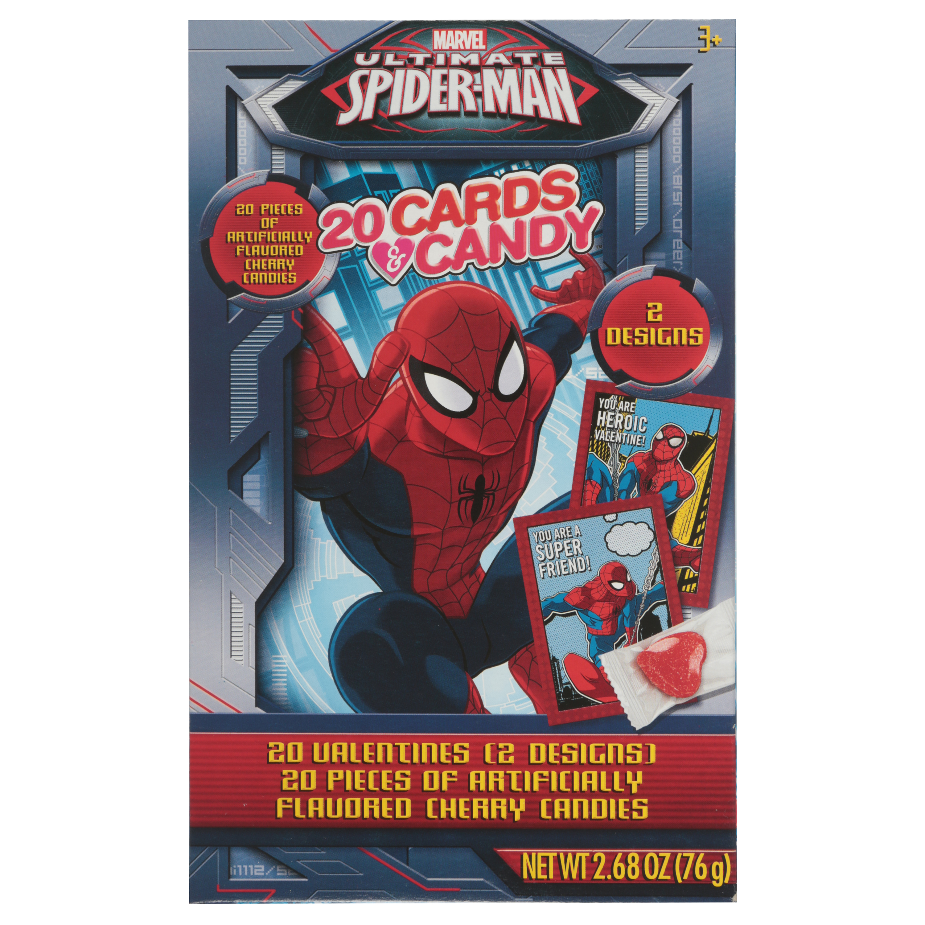 Paper Magic 20 Spiderman Val Cndy
