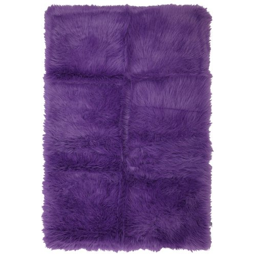 ... Your Zone Flokati Accent Rug