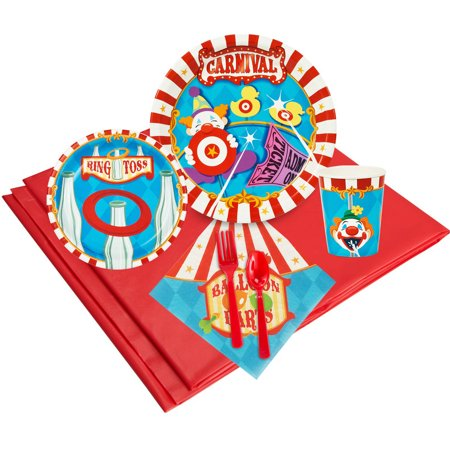 Carnival Games 24 Party Pack - Carnival Theme Party Supplies