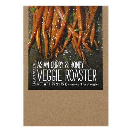 Aspen Spice (Urban Accents Asian Curry & Honey Veggie Roaster, 1.25 Oz (Pack of 6) )