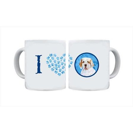 Clumber Spaniel Dishwasher Safe Microwavable Ceramic Coffee Mug 15 ounce SS4776