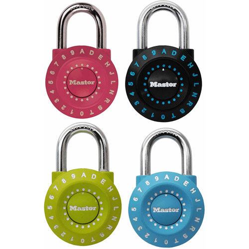Master Lock 1590D Assorted Colors Combination Lock