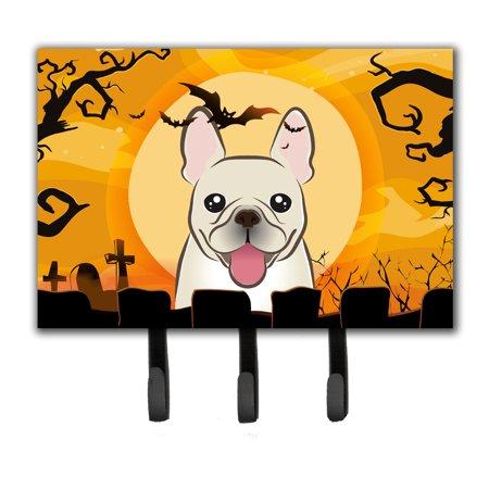 Bulldog Leash Holder (Halloween French Bulldog Leash or Key Holder)