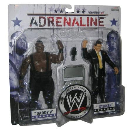 Wwe Adrenaline Figure 2 Pack Big Daddy And Matt Striker