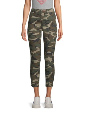 EV1 from Ellen DeGeneres Preston High Rise Skinny Ankle Jean Women's (Camo)