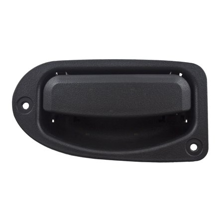 Drivers Rear Outside Exterior Third 3rd Door Handle Textured Replacement for Ford Ranger Extended Cab Pickup 7L5Z1326605AA 1992 Ford Pickup Extended Cab
