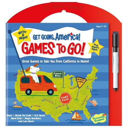 Get Going America - Games To Go - Travel Game by Peaceable Kingdom