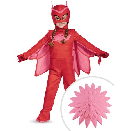 PJ Masks: Owlette Deluxe Child Costume and PJ Masks Owlette Power-Up Accessory