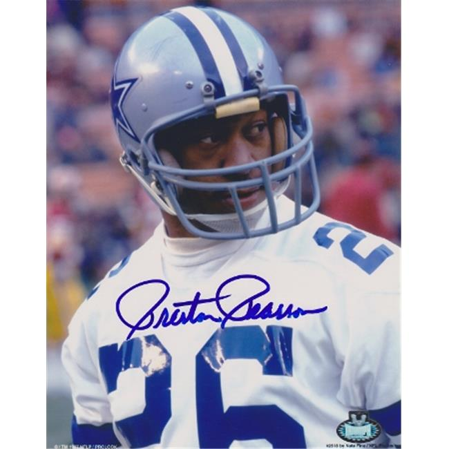 Preston Pearson Autographed Dallas Cowboys 8x10 Photo