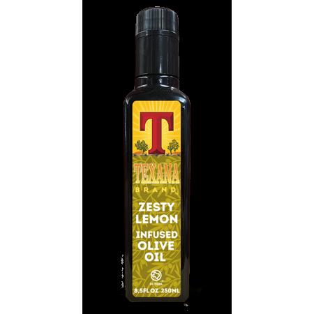 Zesty Lemon Infused Olive Oil, 250ml (8.5oz)